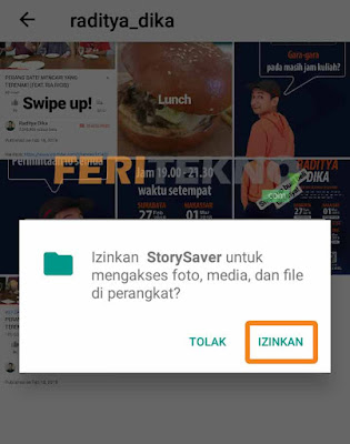 download stories instagram orang lain 4