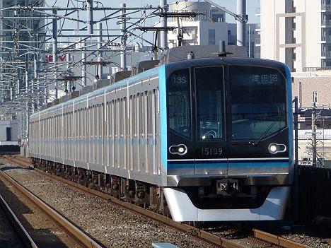 【ひっそり消滅!】メトロ東西線 津田沼行き 15000系