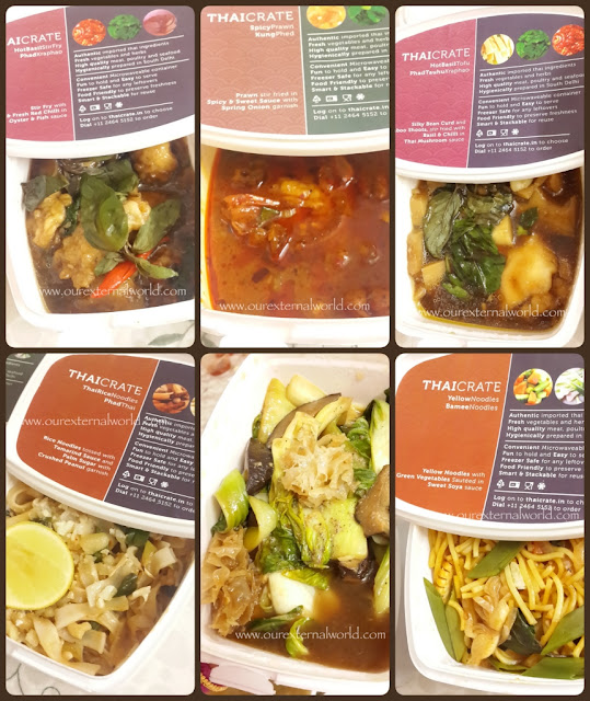ThaiCrate - Home Delivery Review, Food Review, Food Blogger