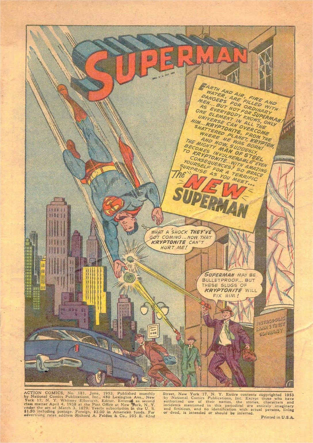 Read online Action Comics (1938) comic -  Issue #181 - 2