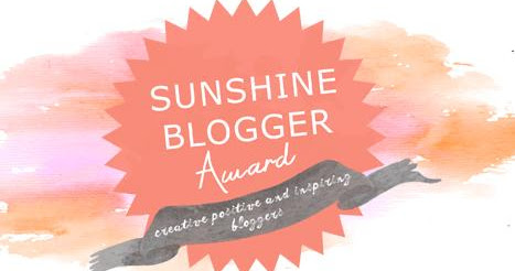 PREMIO SUNSHINE BLOGGER AWARD!
