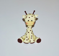 How to make a gumpaste giraffe
