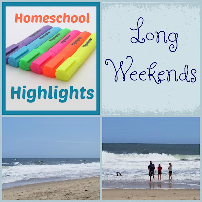 Homeschool Highlights - Long Weekends on Homeschool Coffee Break @ kympossibleblog.blogspot.com
