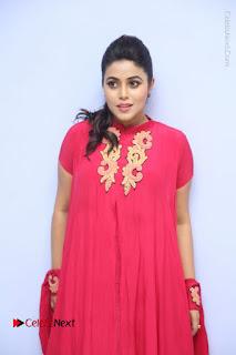 Actress Poorna Latest Stills in Red Dress at Rakshasi First Look Launch  0110.JPG