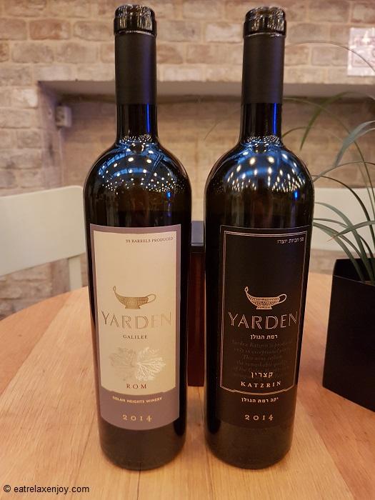 השקת יינות יקב רמת הגולן: ירדן רום 2014, ירדן קצרין 2014