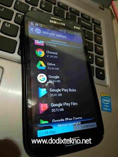 Cara mengatasi Tidak Cukup Ruang pada Android