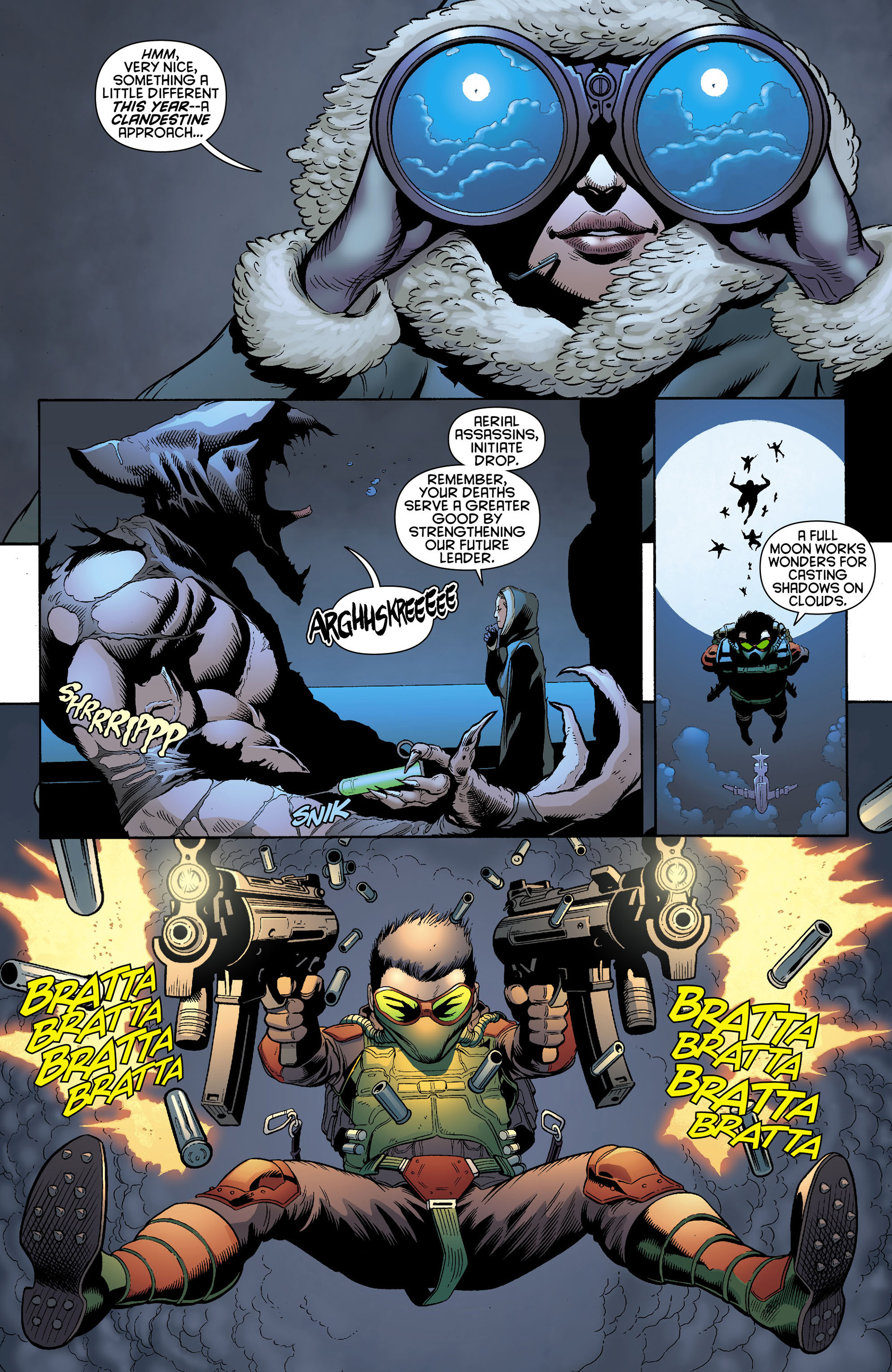 Read online Batman and Robin (2011) comic -  Issue #0 - 11