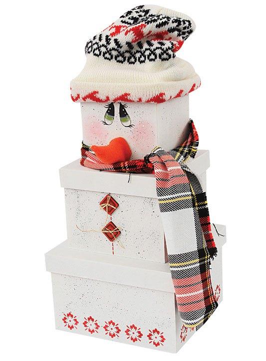 Adornos navide os con cajas para decorar el hogar lodijoella - Cajas con motivos navidenos ...