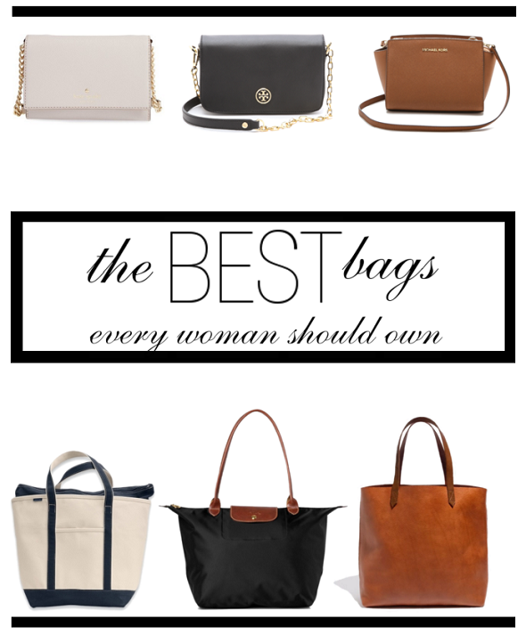 The 6 best bags every woman should own!
