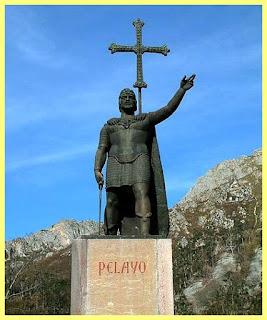Pelayo, primer rey de Asturias
