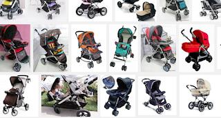 Pilihan Berbagai Model Dorongan Bayi