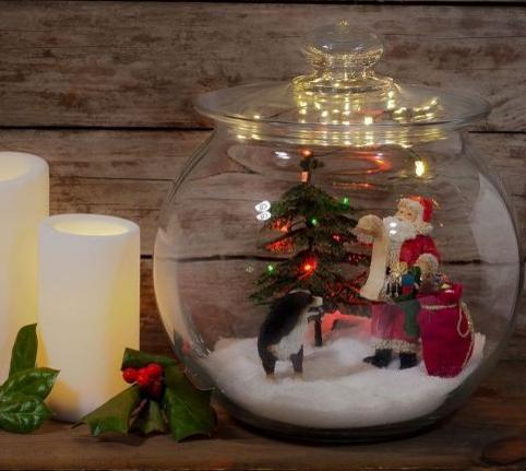 Blizzy glizzy addobbi natalizi fai da te babbo natale in for Addobbi natalizi fai da te 2016