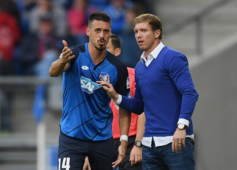 Vị HLV mới của CLB Hoffenheim gây bất ngờ vì quá trẻ tuổi