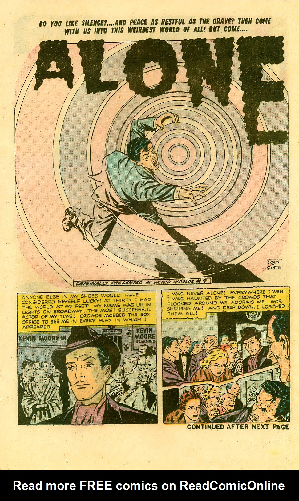 Read online Adventures into Weird Worlds comic -  Issue #9 - 13