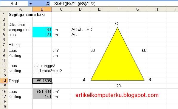 Kumpulan Soal Matematika Sd Kelas 3 Tentang Bangun Datar Materi Matematika Sd Kelas 4 Semester 2 Belajar Matematika 597 X 366 Jpeg 61kb Menggunakan Rumus Luas Dan Keliling Segitiga Sama