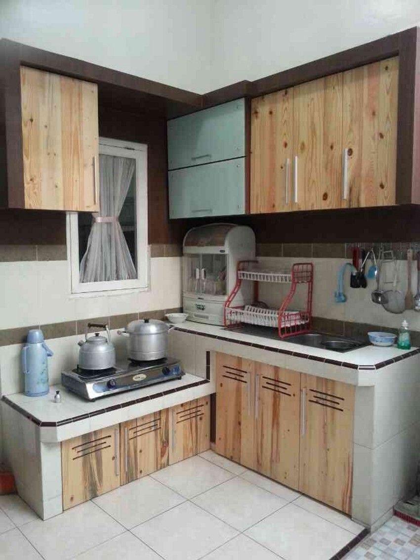 Contoh Kitchen Set Dari Peti Kemas Terlihat Menarik Modelkitchensetnya