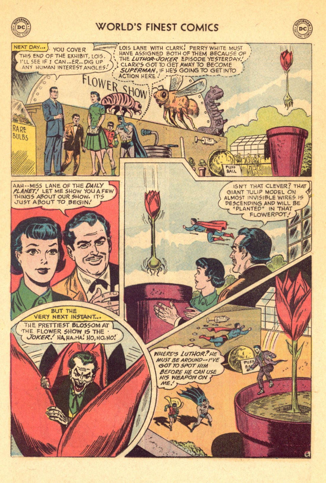 Read online World's Finest Comics comic -  Issue #129 - 8