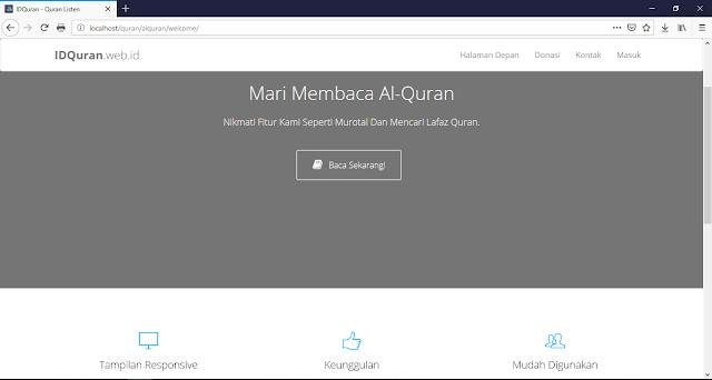 Cara Membuat Website Al-Quran Menggunakan PHP 5