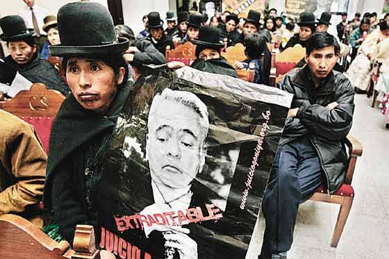 Masacres en Bolivia
