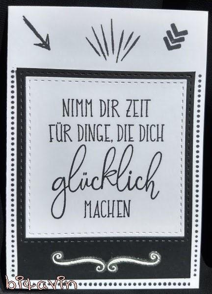 Berühmt bitavin's Bastel-Blog: NIMM DIR ZEIT FÜR DINGE, DIE DICH glücklich @PD_45
