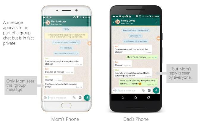 Vulnerabilidad en Whatsapp permite manipular los mensajes