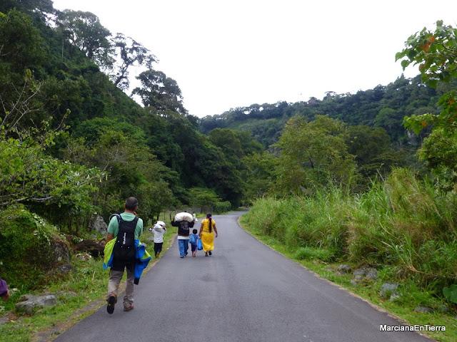 por la carretera a Boquete, Panamá