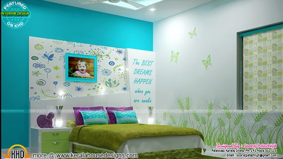 Kid bedroom interior design