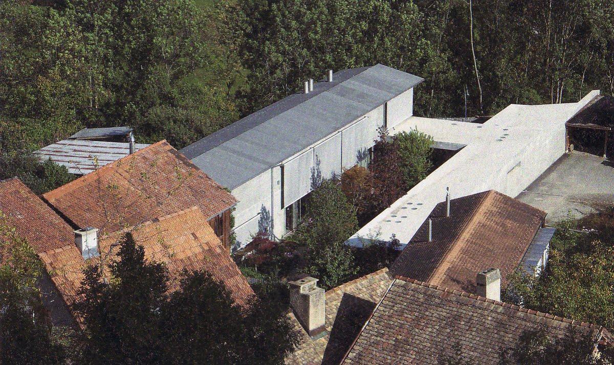 Arte Arquitectura Y Diseno Haus Zumthor Haldenstein 2005