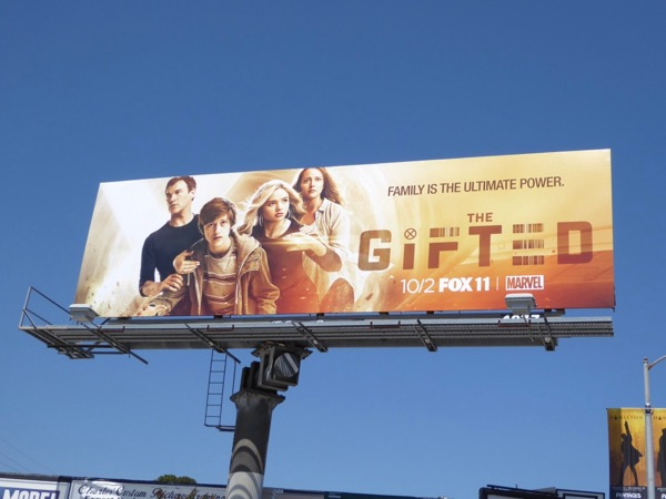 Gifted series premiere billboard