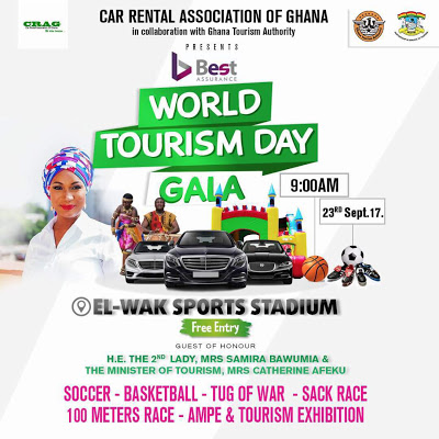Second Lady Of Ghana, Samira Bawumia To Attend World Tourism Day Gala On September 23rd