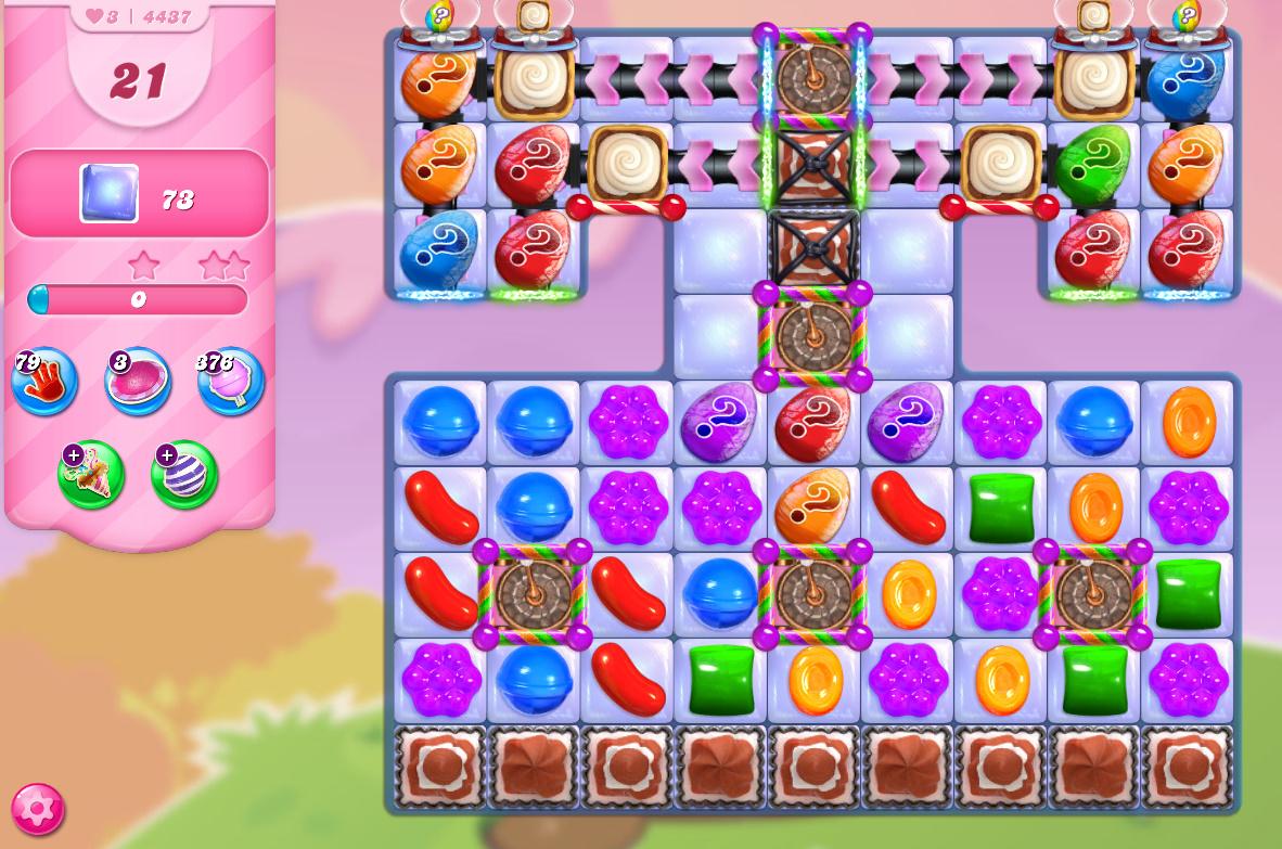 Candy Crush Saga level 4437