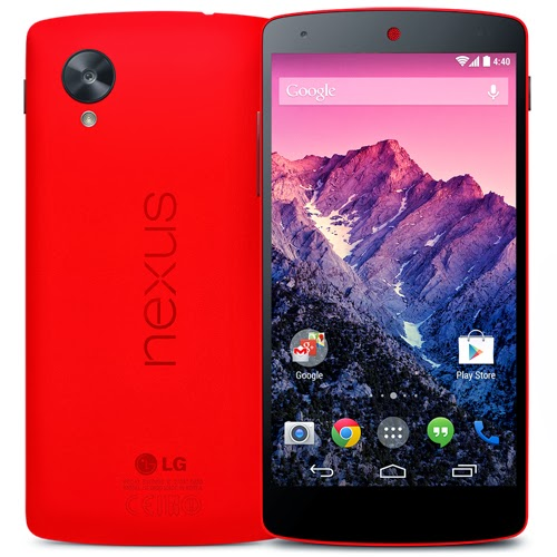 LG Nexus 5 now available in Red