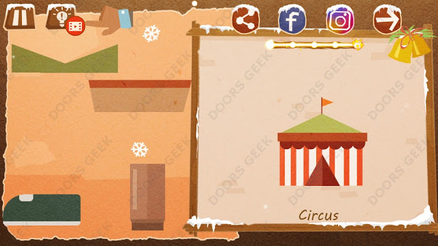 Chigiri: Paper Puzzle Christmas Pack Level 22 (Circus) Solution, Walkthrough, Cheats
