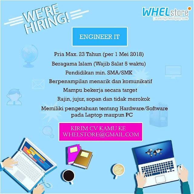 Lowongan Kerja IT Engineer Bandung