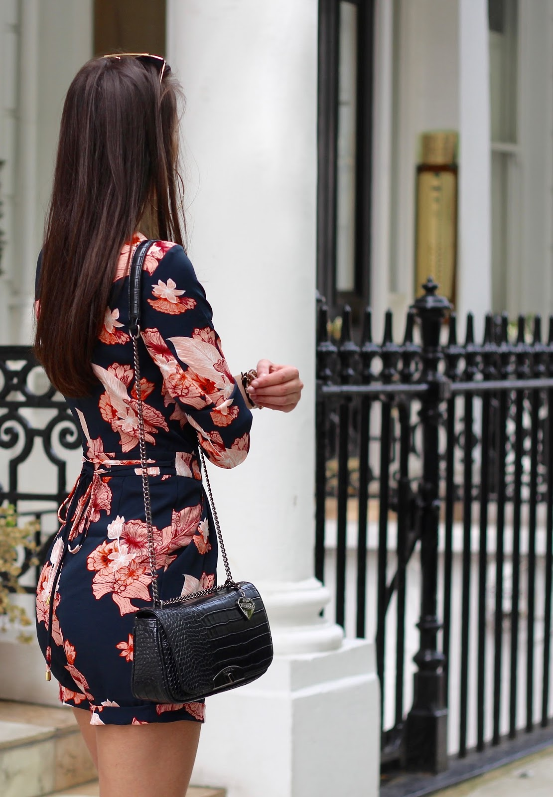 floral playsuit peexo spring style