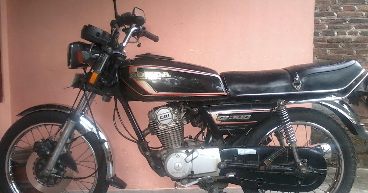 Spesifikasi Honda Gl 100 Si Kecil Nan Tangguh Motor Tuo