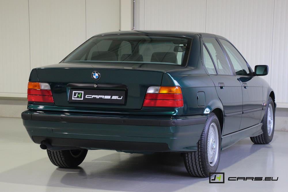 This 1995 Bmw 320i Is Possibly The Lowest Mileage E36 In