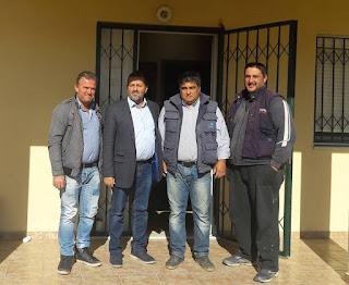 Στα γραφεία της ΠΕΣΚΟ στην Κονταριώτισσα ο βουλευτής Πιερίας του ΣΥΡΙΖA Στέργιος Καστόρης -  Αποφασιστική στήριξη των συνεργατικών σχημάτων των παραγωγών