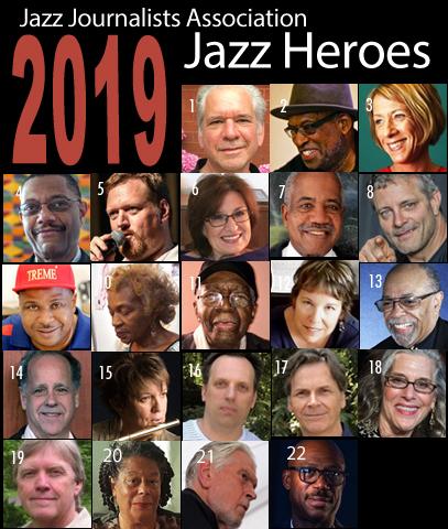 JJA Jazz Awards 2019: 2019 Jazz Heroes