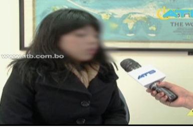 Xiomi Lema entrevistada esta mañana en exclusiva por la red ATB