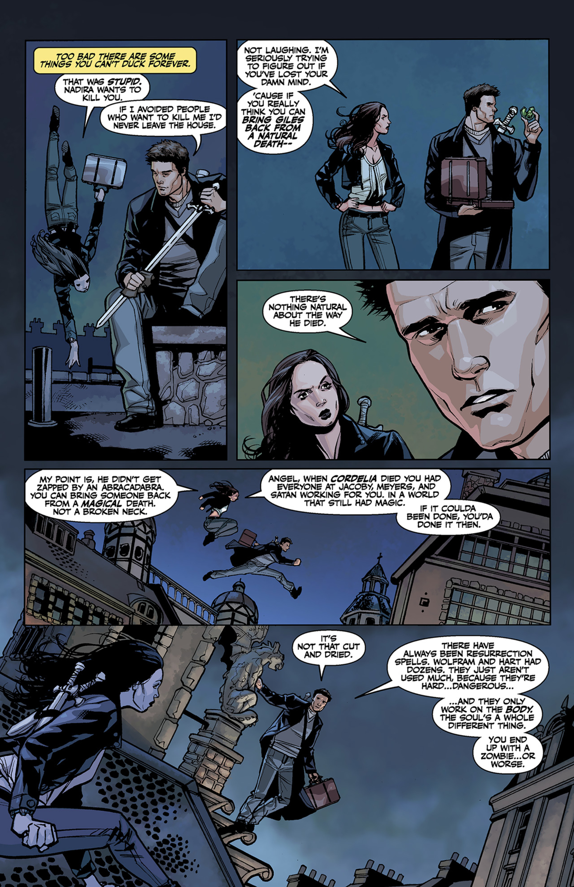 Read online Angel and Faith comic -  Issue #2 - 8