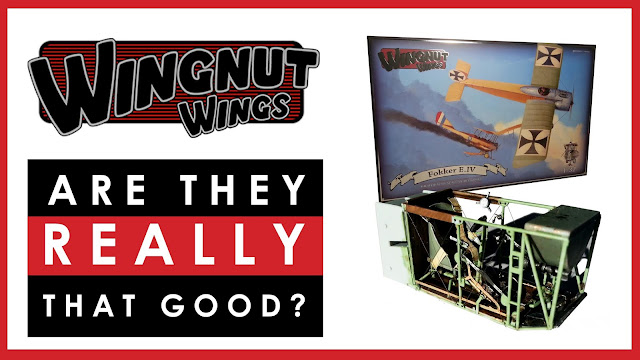 Wingnut Wings scale model kits - are they worth it?