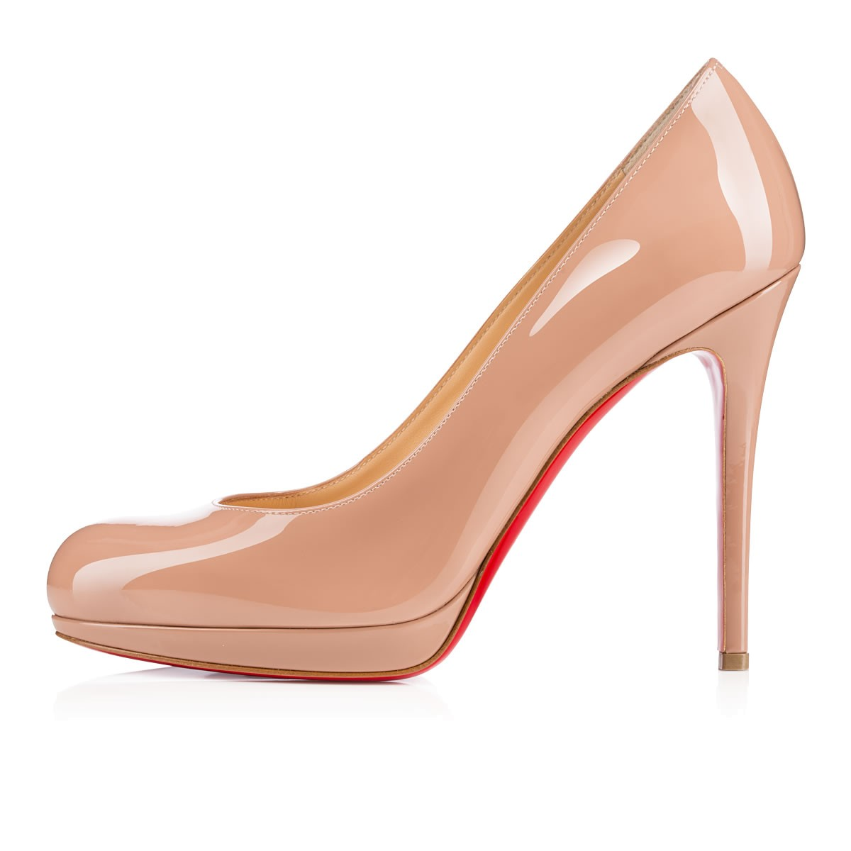 d86c43963af CHRISTIAN LOUBOUTIN NEW SIMPLE PUMP 120MM NUDE PATENT - Reed Fashion ...