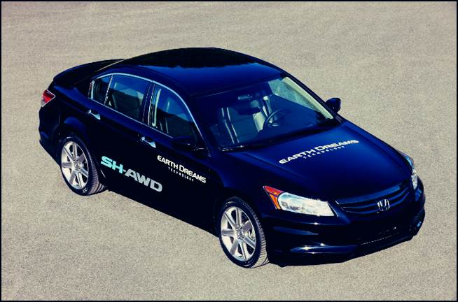 2016 Honda Accord Edge Elctric Sh Awd