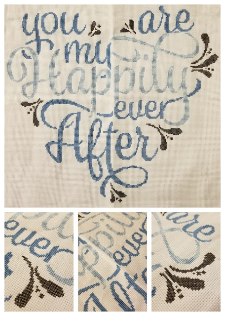 You Are My Happily Ever After Cross Stitch