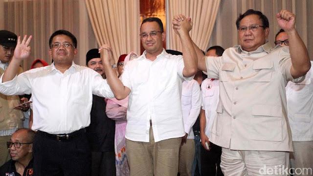 Gerindra Persilahkan Prabowo Pilih Cawapres