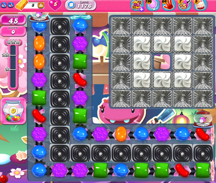 Candy Crush Saga 1176