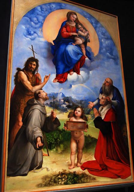 la madone de Foligno, Raphaël