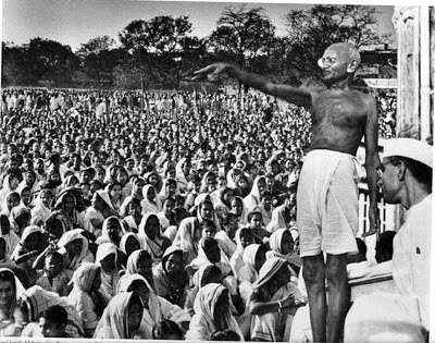 Gandhiji on 15 August 1947