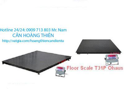 cân sàn điện tử ohaus t31p 5 tấn